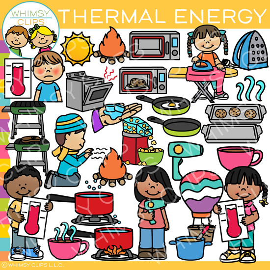 Heat clipart heat energy. Thermal clip art form