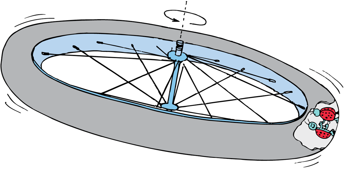 Spaceship clipart physics. Artificial gravity in a