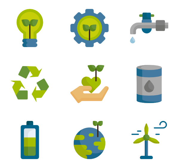 renew packs vector. Energy clipart icon