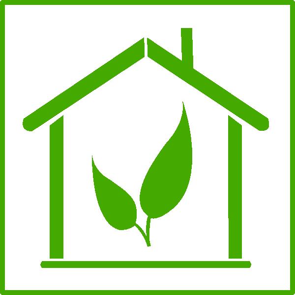 Energy clipart icon. Green house clip art