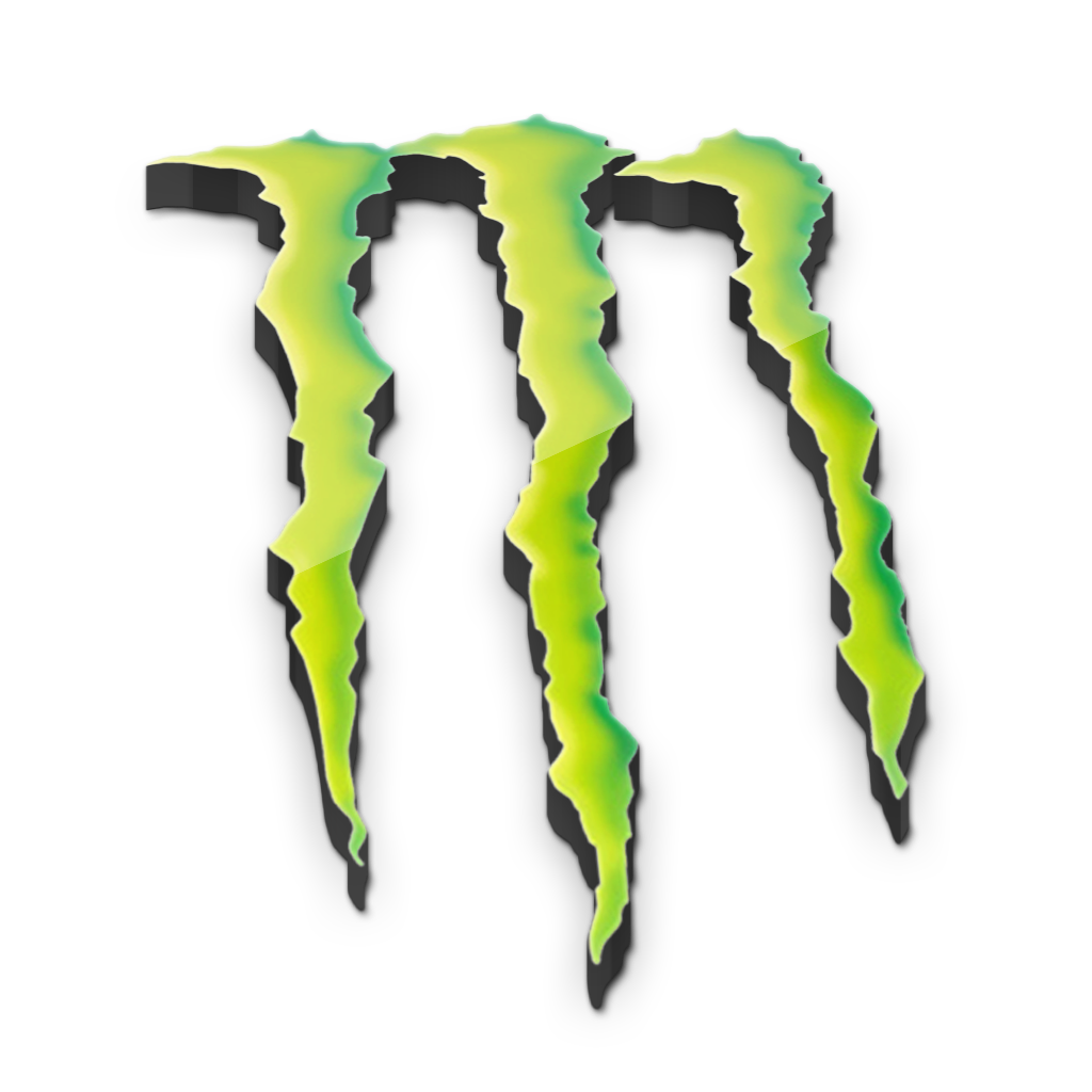Monster logo n image. Energy clipart icon vector free