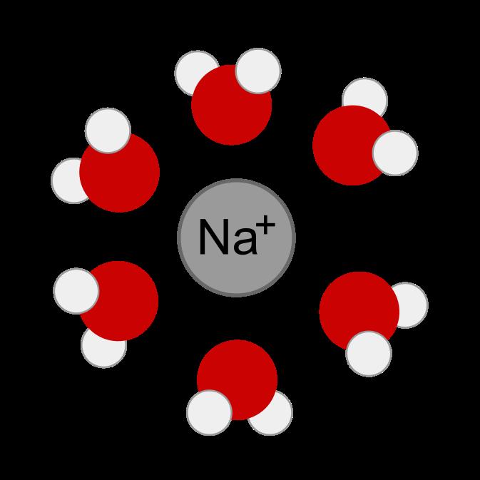 Molecular illustration of a. Energy clipart ion