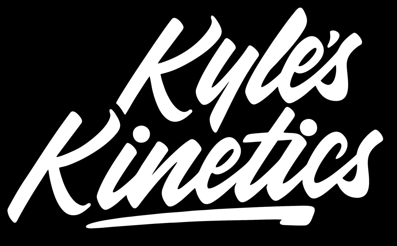 Energy clipart kinetic energy. Kyle s kinetics logo