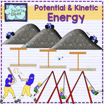 Potential and science clip. Energy clipart kinetic energy