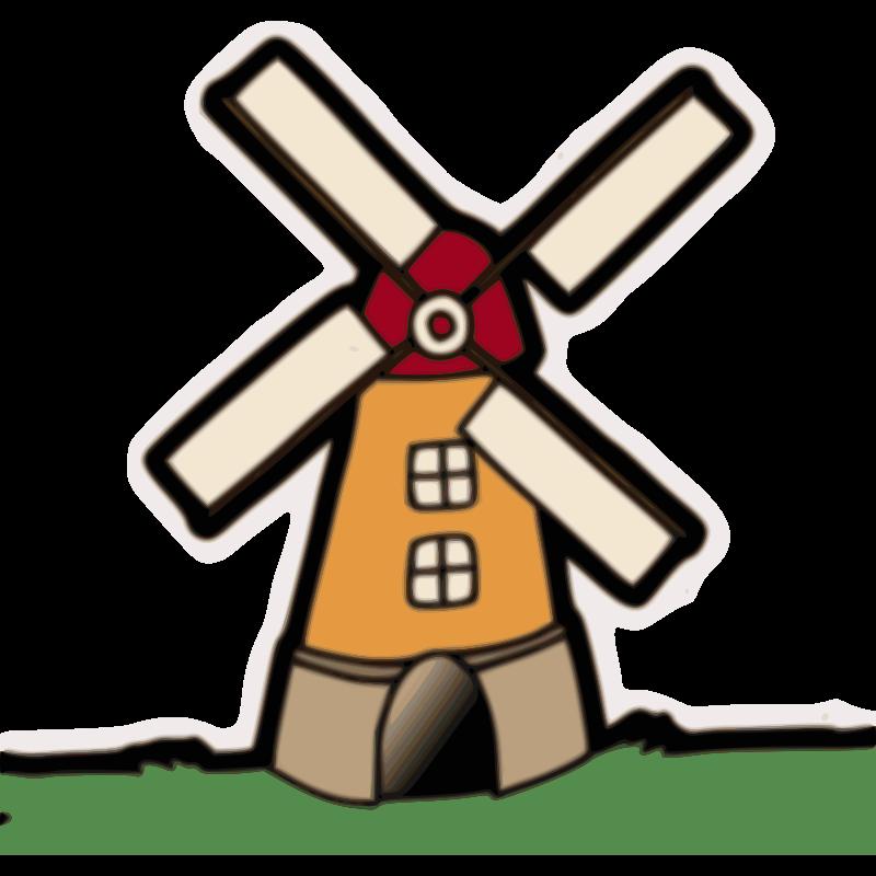 Windmill group clip art. Flour clipart coloring