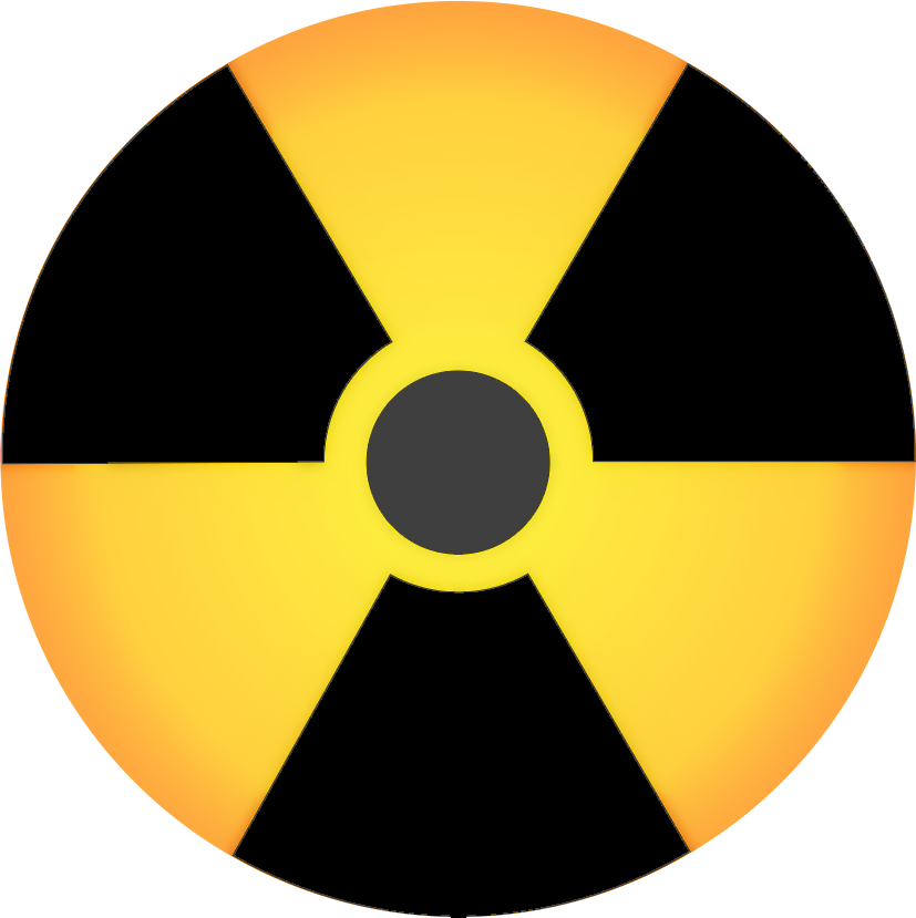 Energy clipart radiation. Symbol full page gradiant