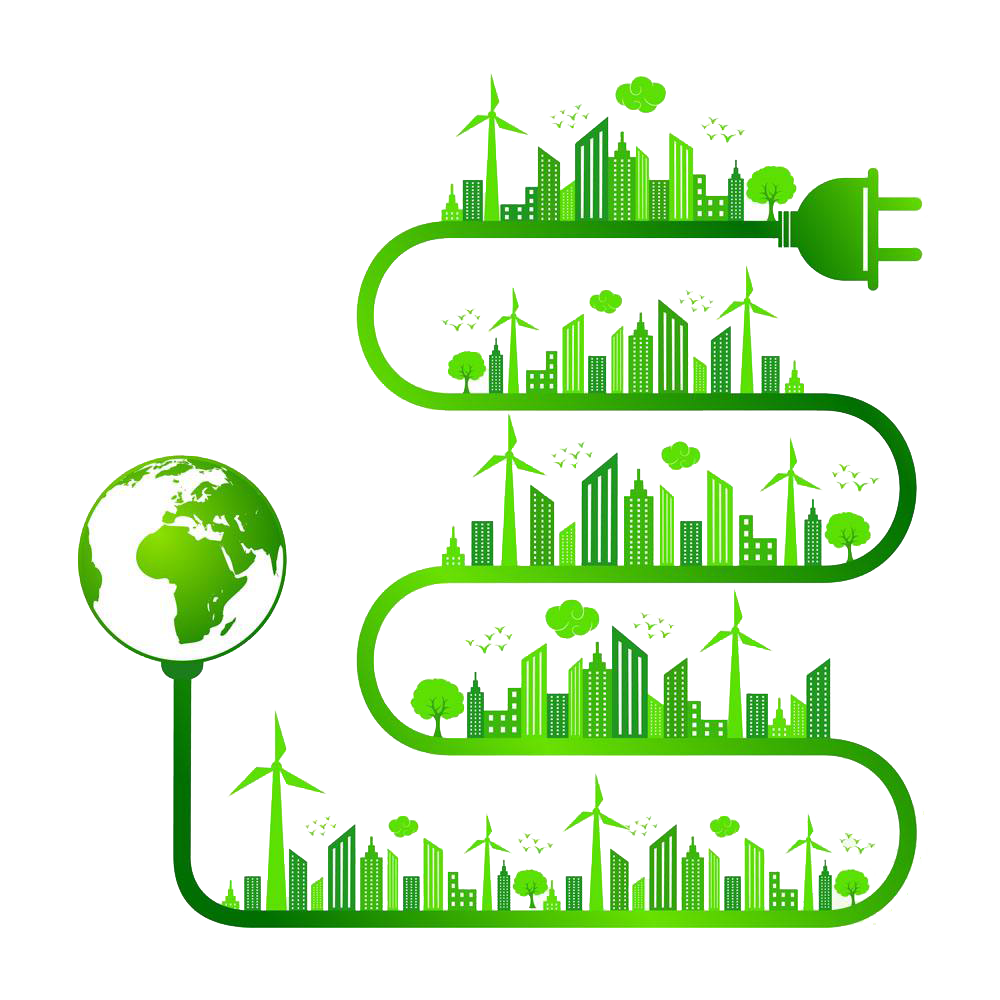 Nature ecology clip art. Energy clipart save
