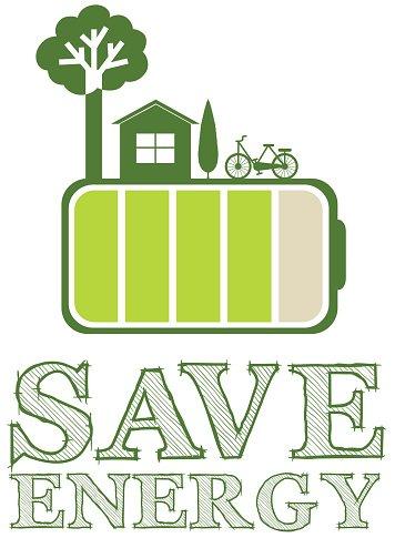 Energy clipart save. Poster green design premium
