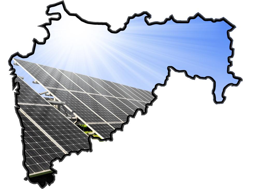 Power plant in maharashtra. Energy clipart solar array