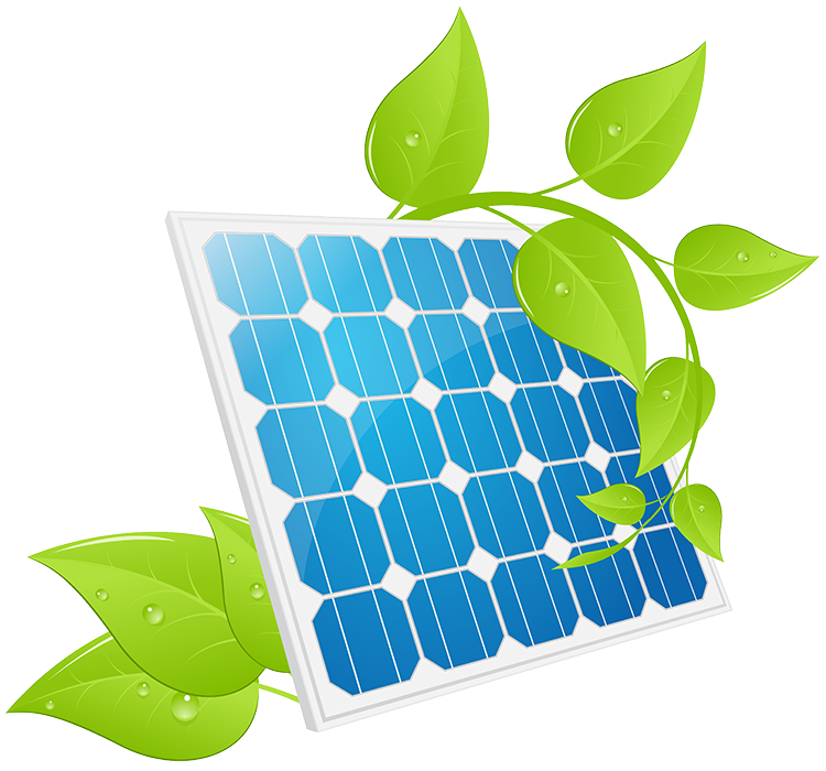 Panels systems for the. Energy clipart solar power