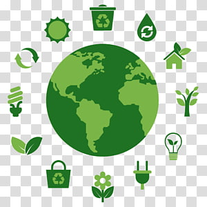 Buildings wind turbine and. Energy clipart sustainable world