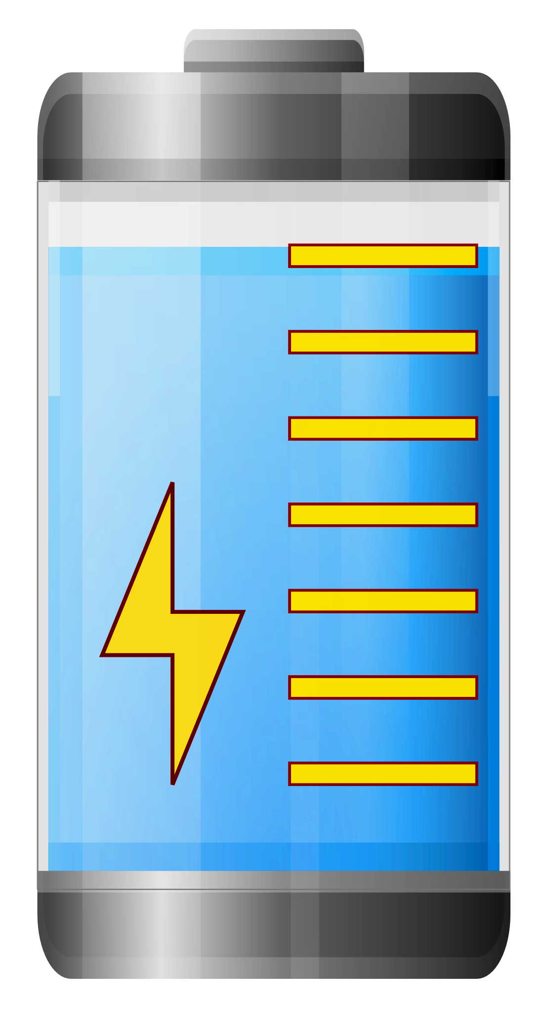 Battery charging png image. Energy clipart transparent