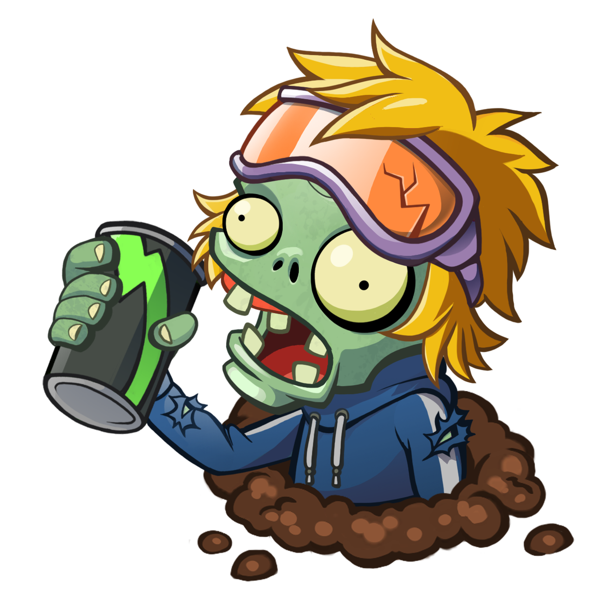 Plants vs zombies on. Zombie clipart zombie word