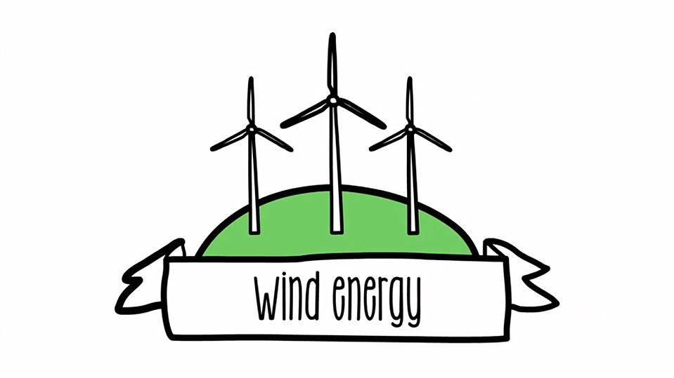 Which are the benefits. Energy clipart wind turbine