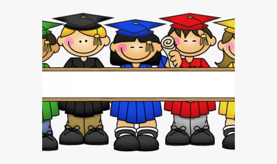 Children . Graduation clipart kindergarten graduation