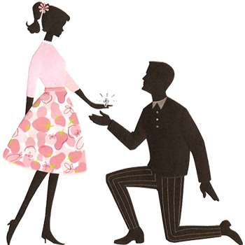 Engagement clipart animated. Free marriage proposal cliparts