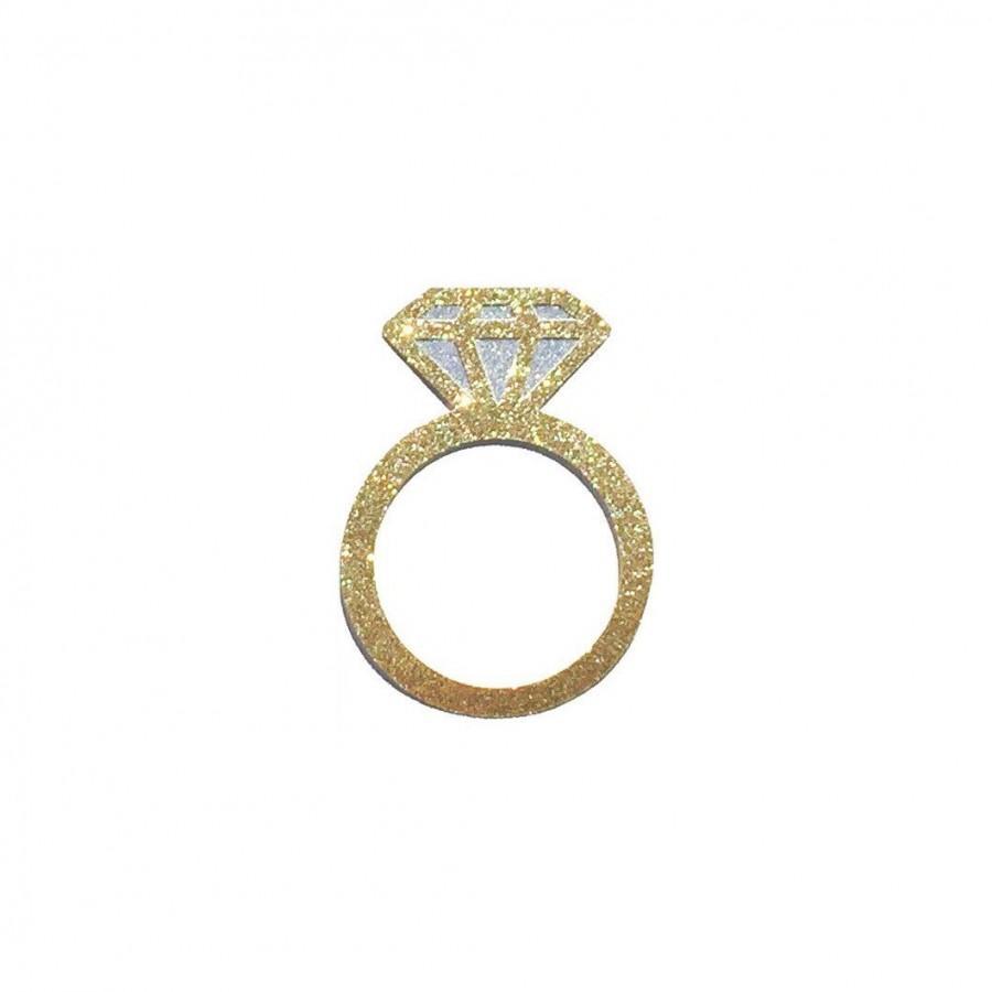 Banner add on glitter. Engagement clipart bachelorette ring
