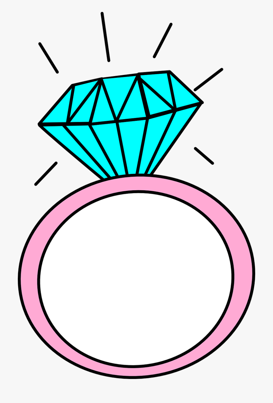 Drawing rings cartoon . Engagement clipart bachelorette ring