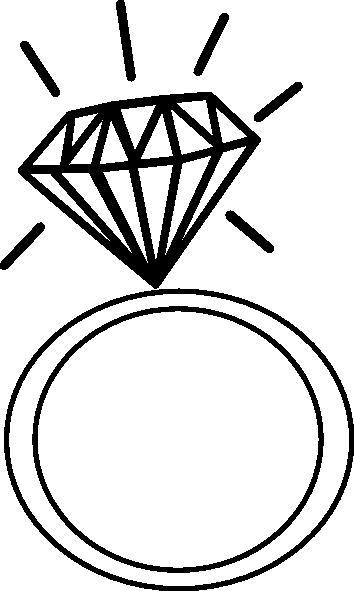 Clipartfest wikiclipart . Engagement clipart bachelorette ring
