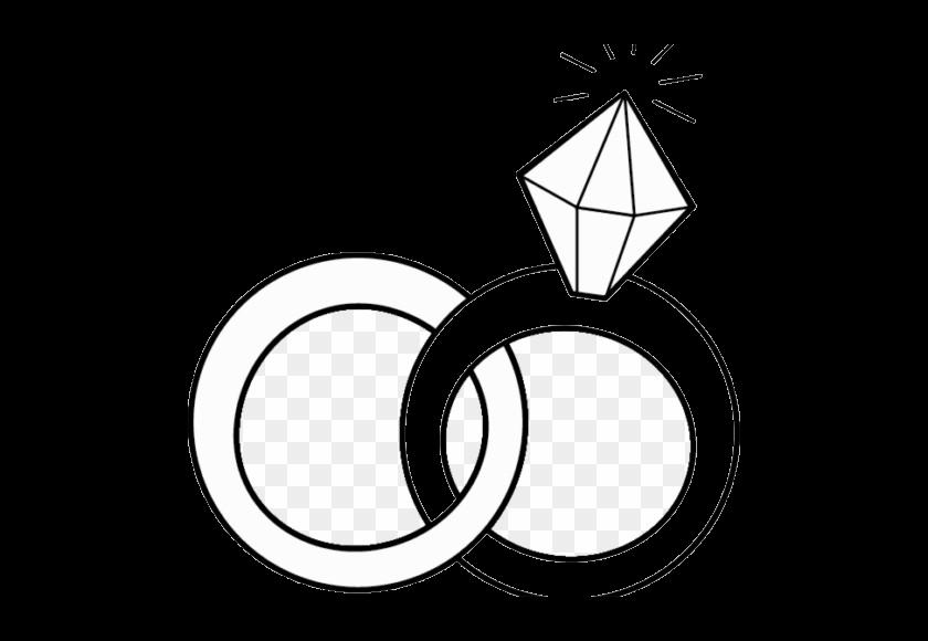 Diamond ring clip art. Engagement clipart beautiful wedding