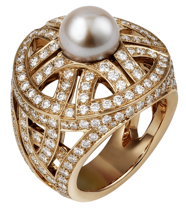 Gem clipart bling. Gold ring with pearl
