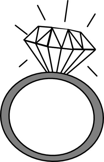 Wedding wikiclipart . Engagement clipart clip art
