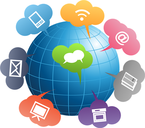 Engagement clipart community engagement. Home globe with icons