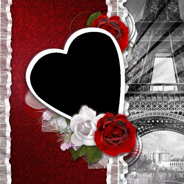 Engagement clipart dil. Transparent romantic frame love