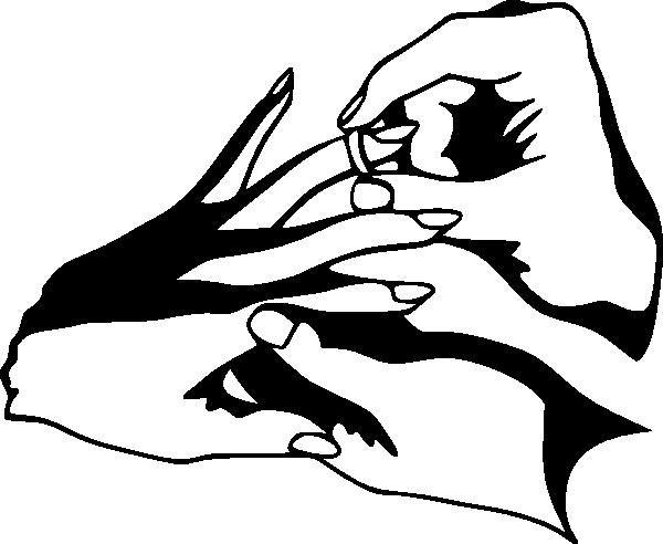 Ring clip art black. Engagement clipart elegant bridal