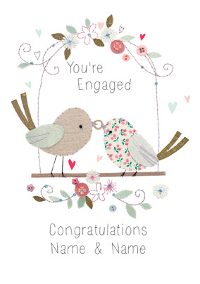 Engagement clipart engagement card. Carlton easter for a