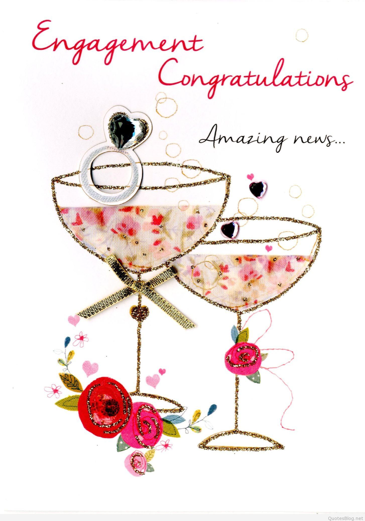 Congratulations images gifs and. Engagement clipart engagement card