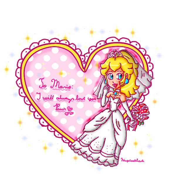 By ninpeachlover on deviantart. Engagement clipart engagement card