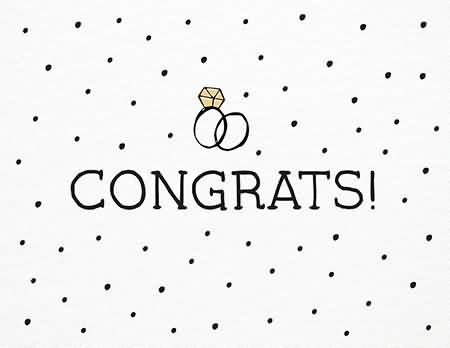 Engagement clipart engagement congratulation. Congrats on your wishes