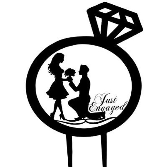 Engagement clipart engagement party. Drawing free download best
