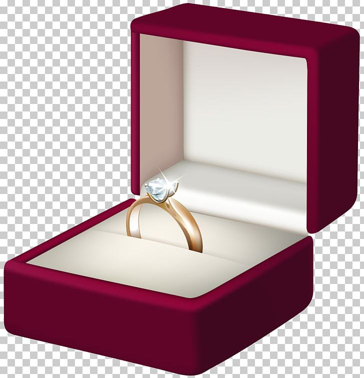 Ring png bag clip. Engagement clipart in box