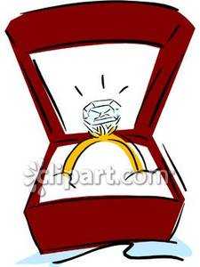 Engagement clipart in box. Ring panda free
