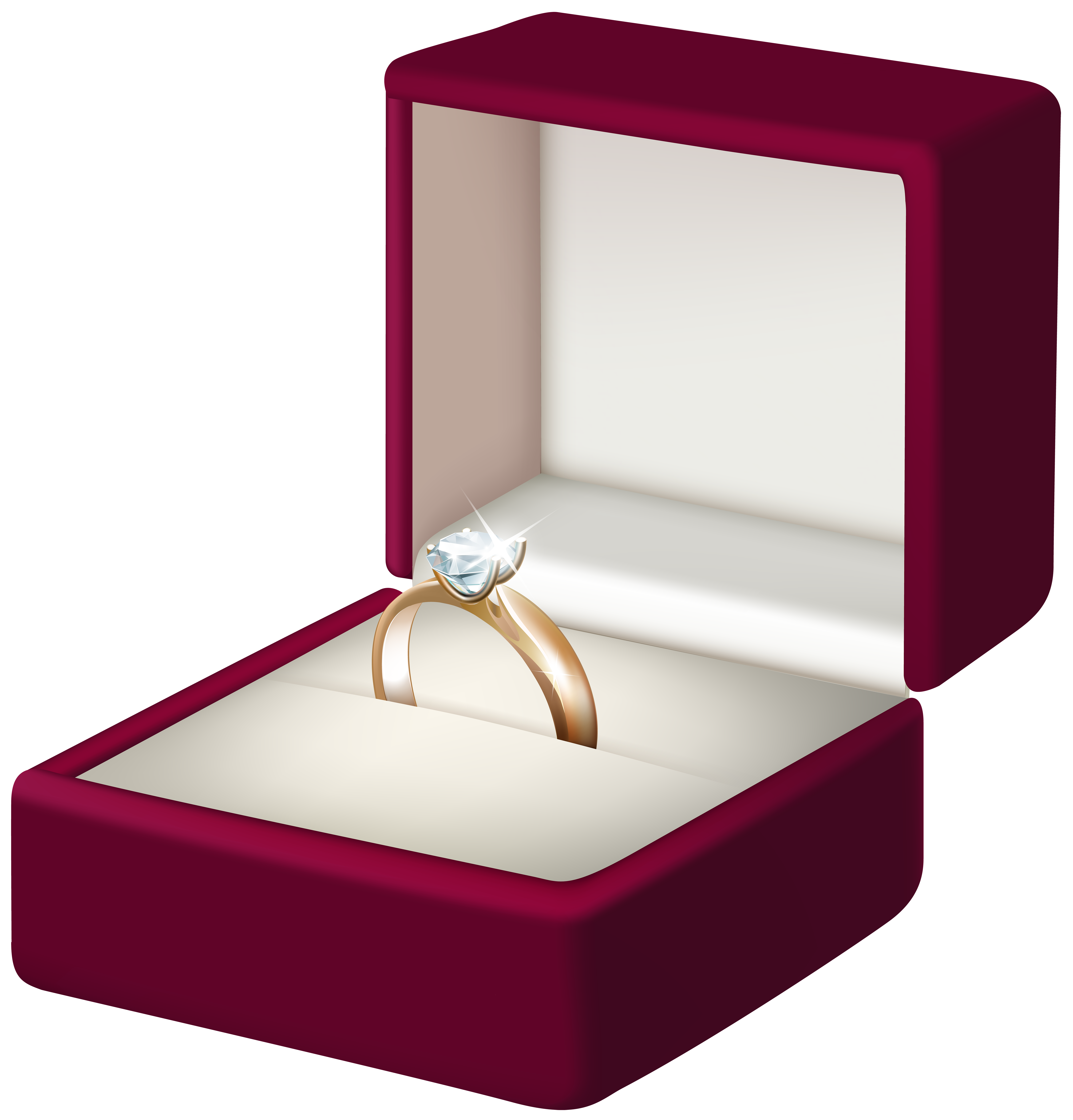 Engagement clipart in box. Ring transparent png clip