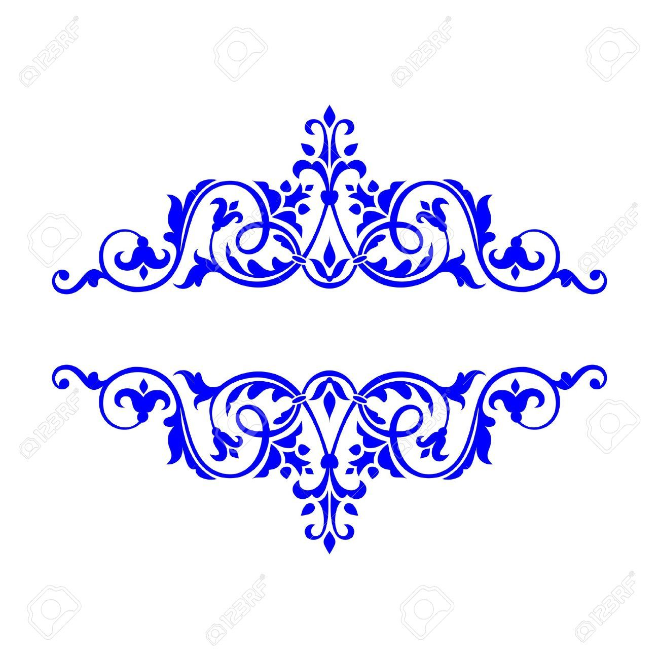 Engagement clipart royal blue wedding. Image result for scroll