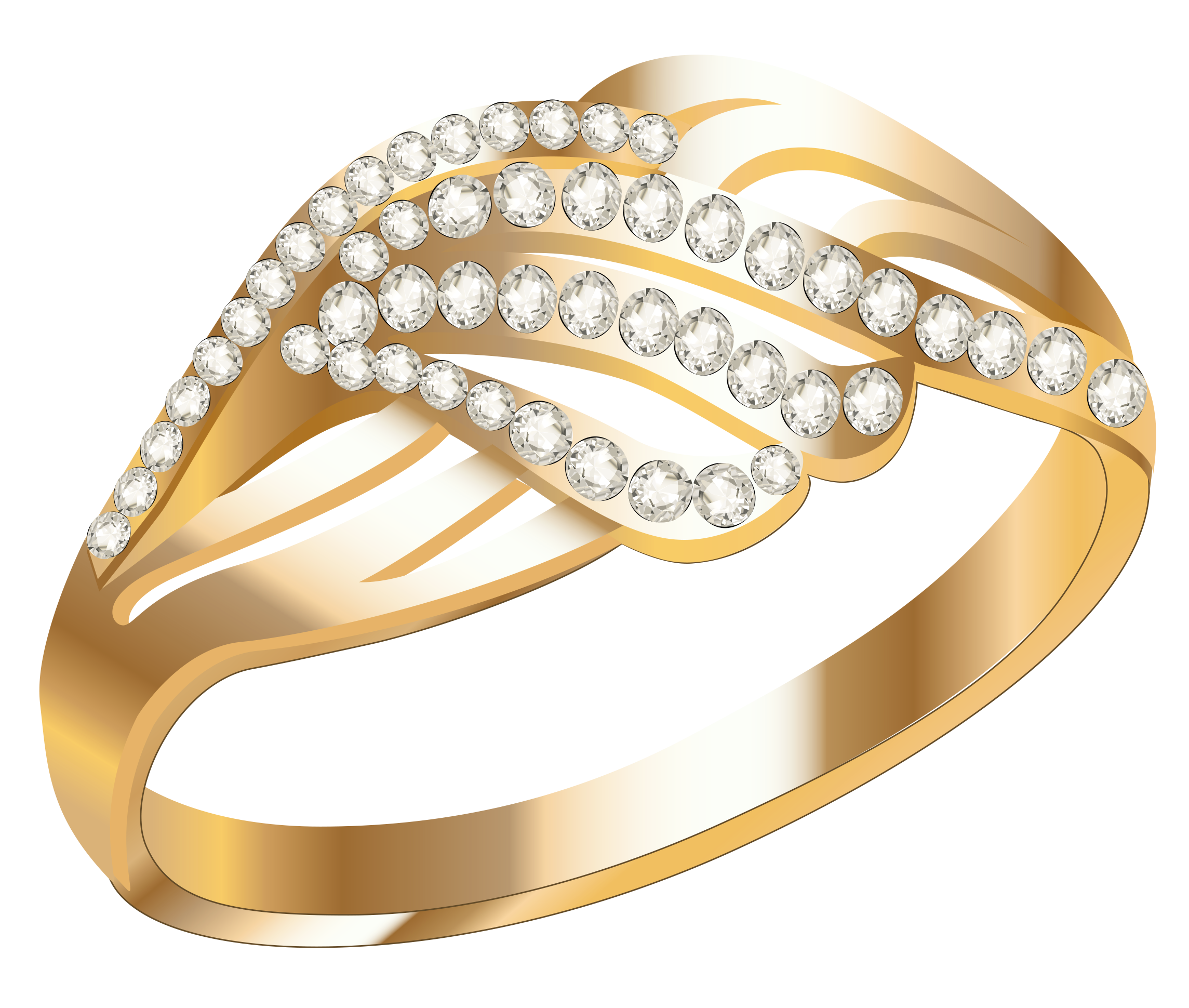 Jewelry gold pencil and. Engagement clipart small ring