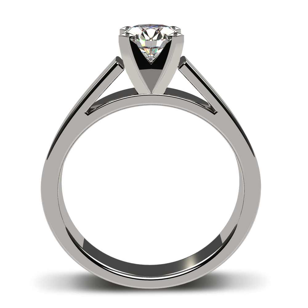 k white gold. Engagement clipart two ring