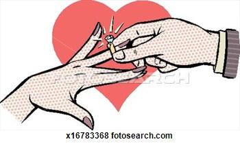 Engagement clipart wedding artwork.  clip art clipartlook