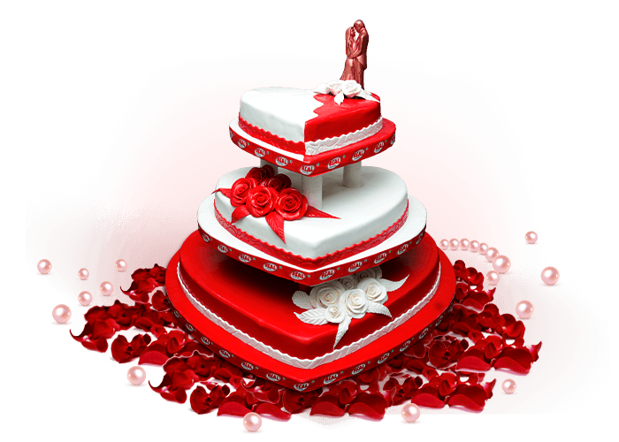 Engagement clipart wedding cake. Cakes real bakers previousnext
