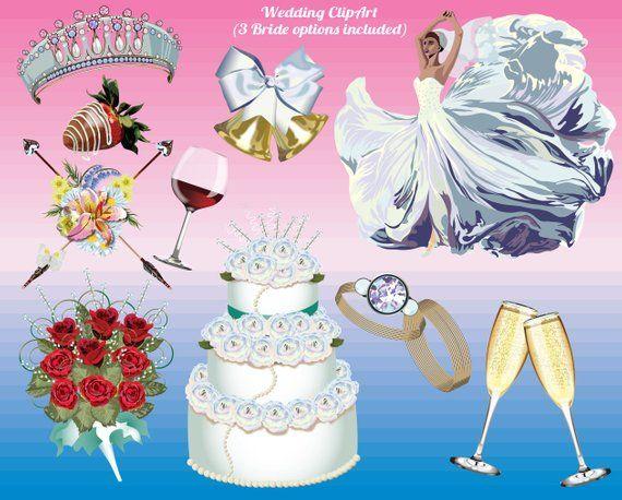 Bells images . Engagement clipart wedding cake