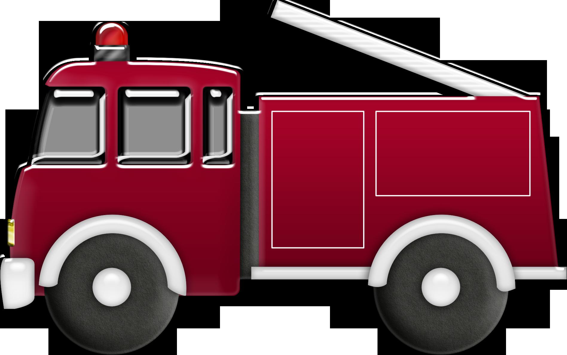 Car fire engine motor. Firetruck clipart old