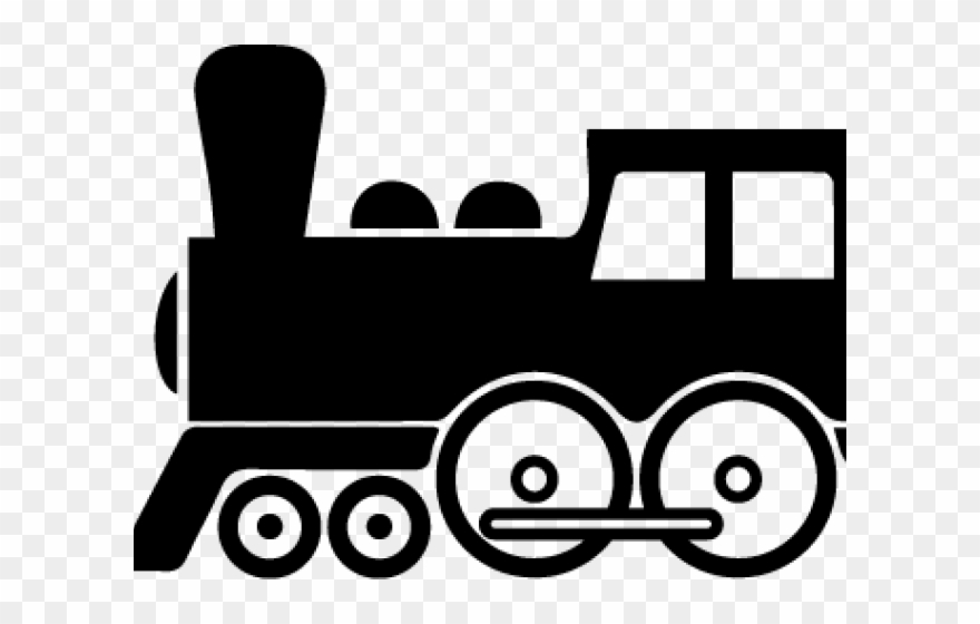 Train side view png. Engine clipart cartoon