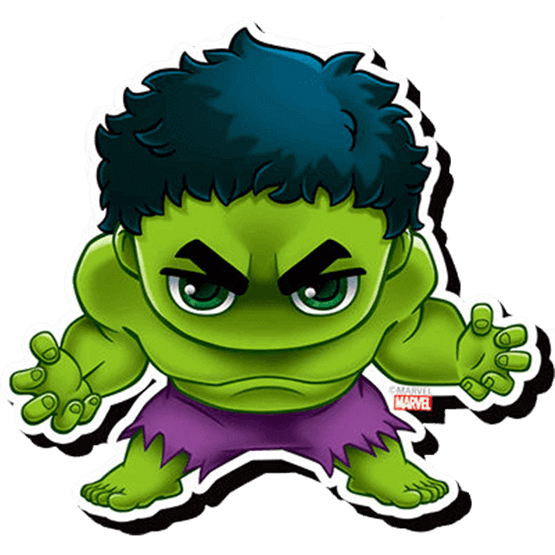 Engine clipart chibi. Hulk magnet nd from