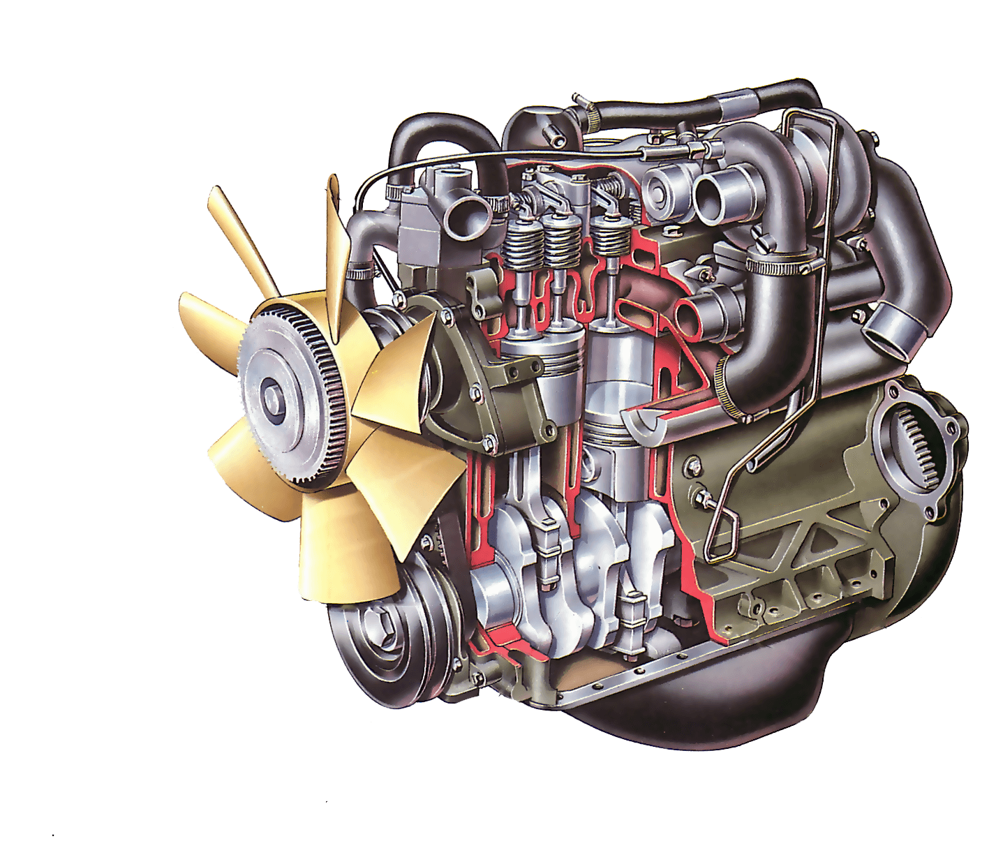 engine clipart combustion engine
