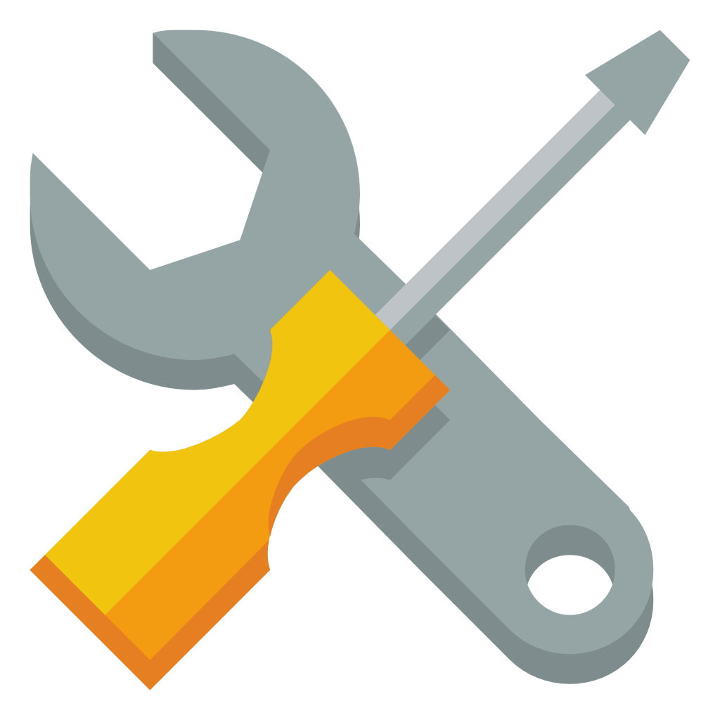 screwdriver clipart rench