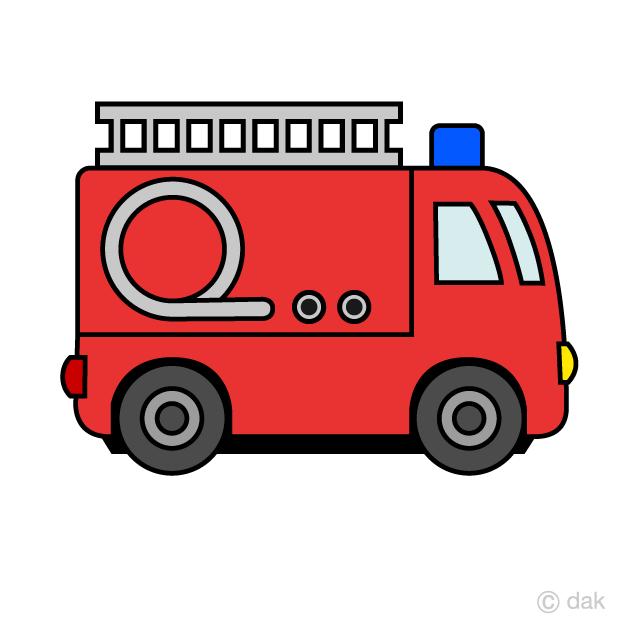 Firetruck clipart simple. Cute fire engine free