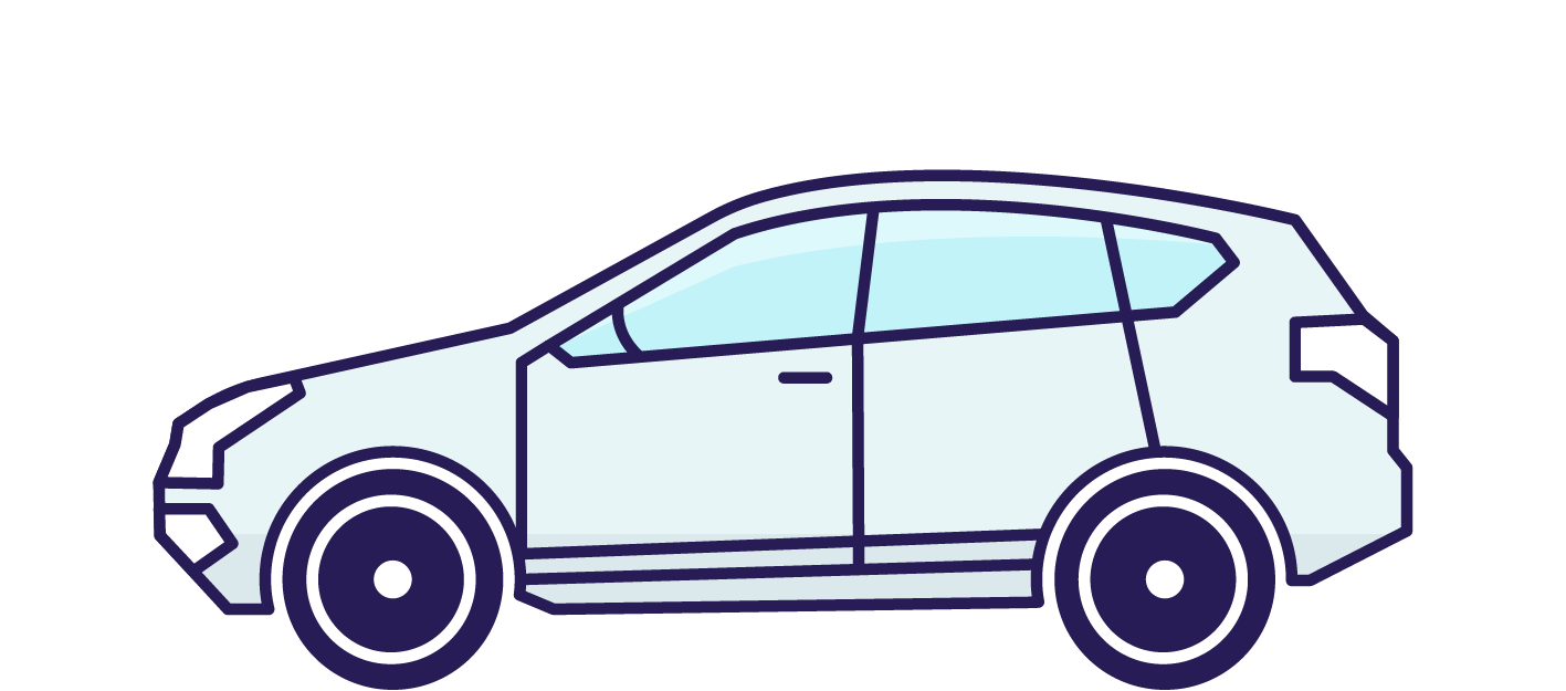 Booster get gas delivered. Engine clipart draw car